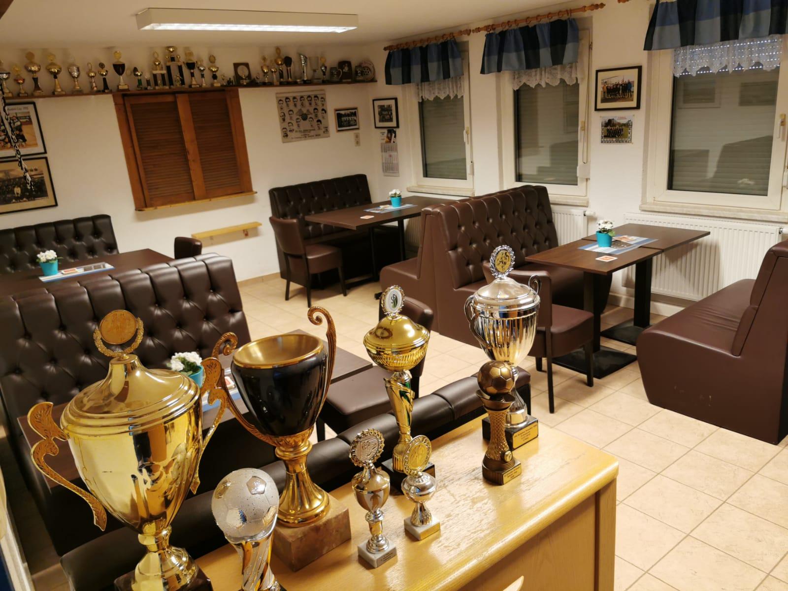 Sportlerheim im neuen Design, neue Angebote, perfekter Kaffee, Preise bleiben !!!